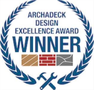 Archadeck-Design-Award-Winner Award